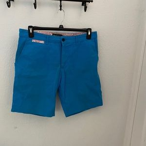 Betabrand shorts blue size 32